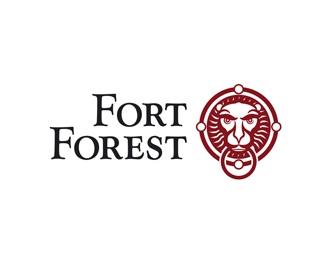 tofu,fort forest,hossa,housing estate logo