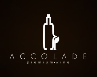 brand,wine,bottle,accolade,premiumwine logo