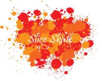 slice,team,skate logo