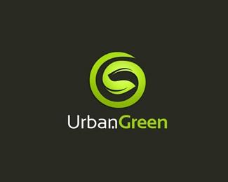 clean,green,leaf,energy,urban logo