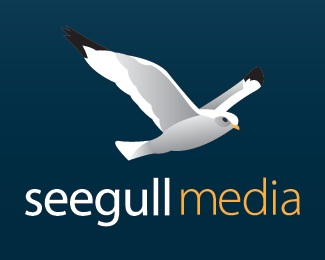 bird,design,media,seagull,gull logo