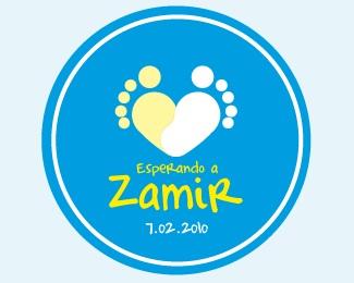 baby,love,feet,nephew,zamir logo