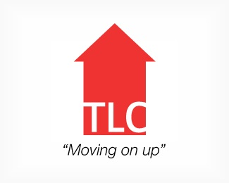 arrow,house,red,tlc logo
