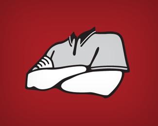 bold,illustration,mark,red,vector logo