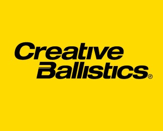bullet,creative,ballistics,helvectica logo