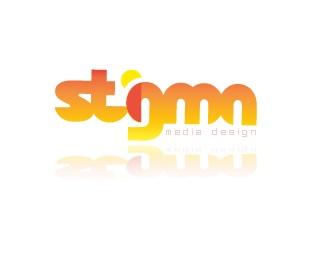 design,media,orange,red,yellow logo