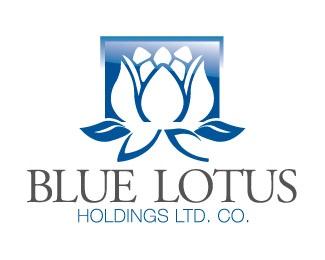 company,lotus,iconic,graphic logo design,holdings logo