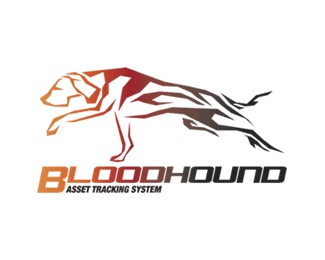 animal,software,dog,technology,bloodhound logo
