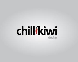 design,hot,kiwi,pepper,chilli logo