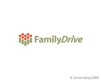 family,heart,ames,jerron logo
