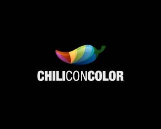 development,software,rainbow,chilli,con logo