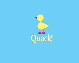 animal,duck,quack logo