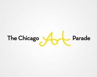 art,yellow,parade,whimsical logo