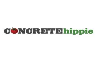 green,nature,hippie,organic,natural logo