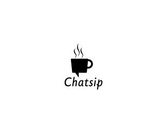 coffee,date,drink,group,fun logo