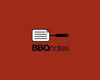 blog,notes,simple,grill,minimal logo