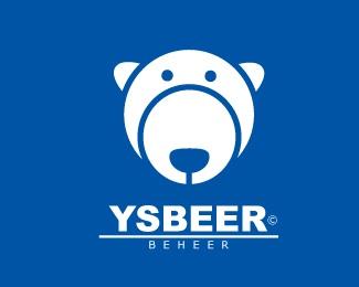 blue,personal,ice,polar,polar bear logo