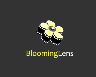 flower,photography logo