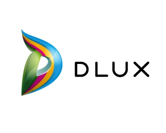 color,d,stripe,dlux logo