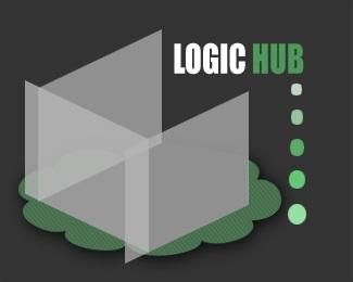 clean,green,experimental logo