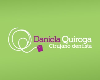 clean,green,teeth,surgeon,dental floss logo