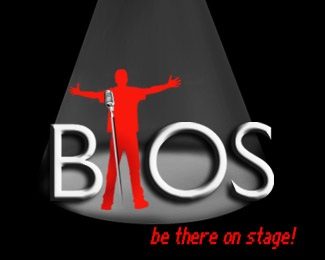 event,red,guy,stage,event management logo