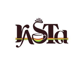 coffee,colour,type,rasta,s logo