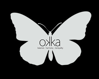 butterfly,beauty,natural logo