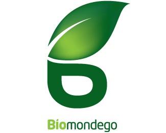 green,leaf,b logo