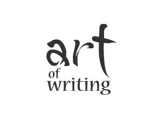 art,ink,calligraphy logo