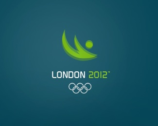 blue,silhouette,sports,london,2012 logo