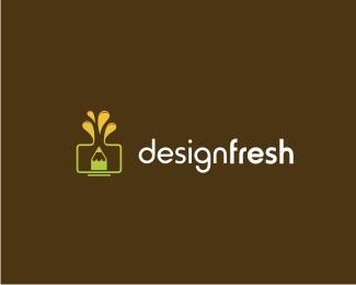 computer,desktop,drop,ink,fresh logo