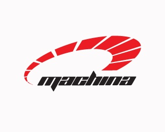 red,cars,machines,machina logo