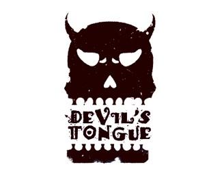 black,brown,horn,teeth logo