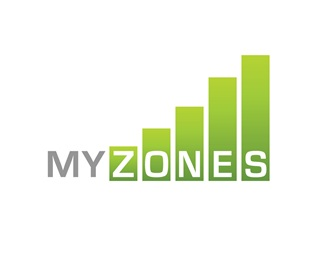 green,bars,gradient,strength,myzones logo