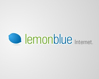 blue,digital,green,lemon,agency logo