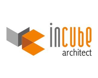 orange,architect,fito,incube architect logo