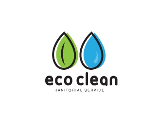 leaf,drop,cleaner,commercial,cleaning logo