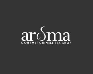 leaf,steam,tea logo