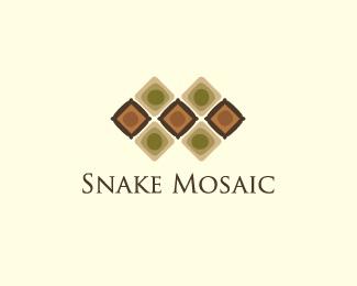 square,tile,pattern,mosaic,snake skin logo