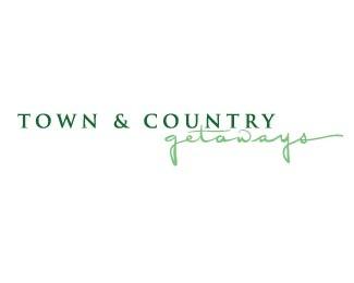 script,apartment,vacation,real estate,rental logo