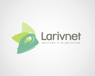 green,leaf,iron,environment,service persons logo