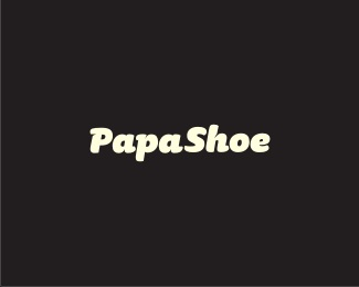 online,shop,shoes,foot,papa logo