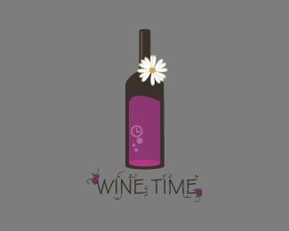 time,wine,2.0,bottles logo