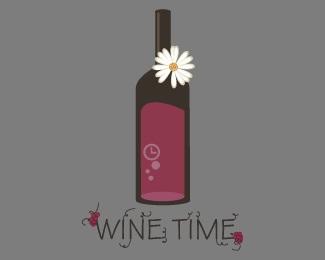 Wine Time logo