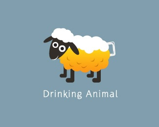 alcohol,animal,drink,bubble,drunk logo