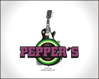 bar,music,pizza logo