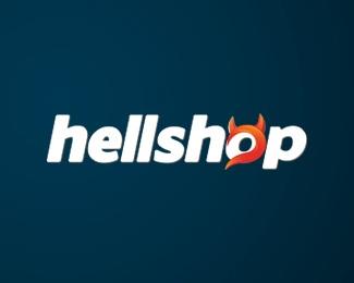 logo,agency,interactive,hellshop logo
