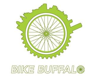 green,bike,ny,buffalo logo