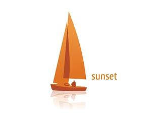 health,yoga,sunset,salud logo